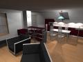 Dnevna soba, jedilnica in kuhinja