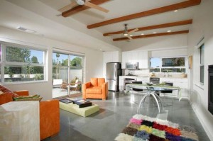 Breezeway House - contemporary - family room - sacramento - by Sage Architecture, Inc