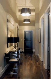 T Eatons Loft Entrance - contemporary - entry - other metro - by Atmosphere Interior Design Inc